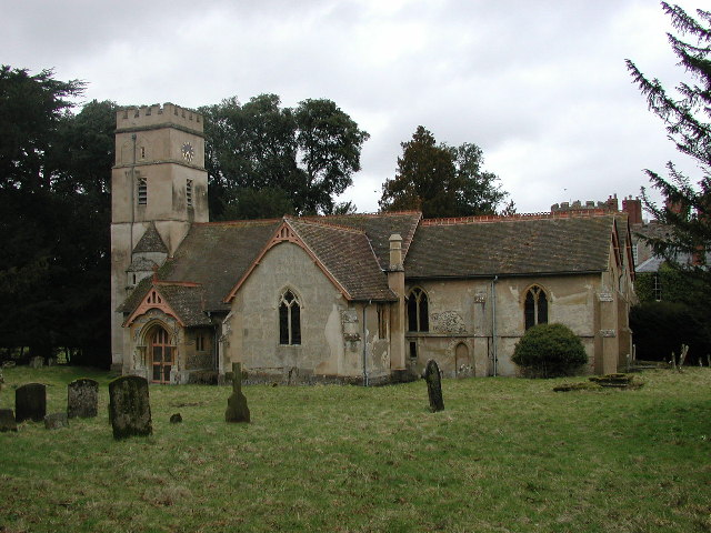 Shirburn (Oxon) All Saints Church