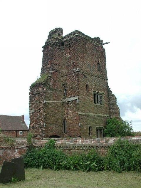 Hamstall Ridware (Staffs) Ruins of the Hall