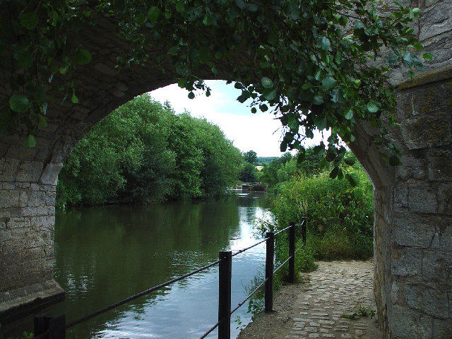 View from under the Bridge at Teston