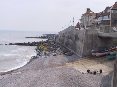 Sea Wall, Sheringham