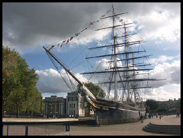 Cutty Sark. Greenwich. London.