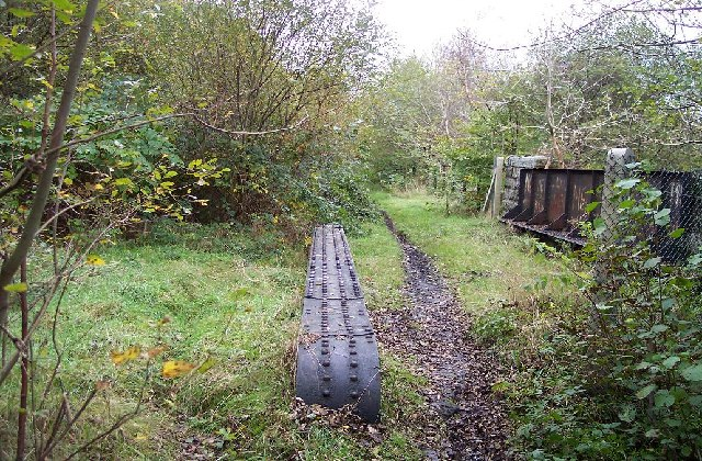 Disused railway bridge, Argoed, Caerphilly