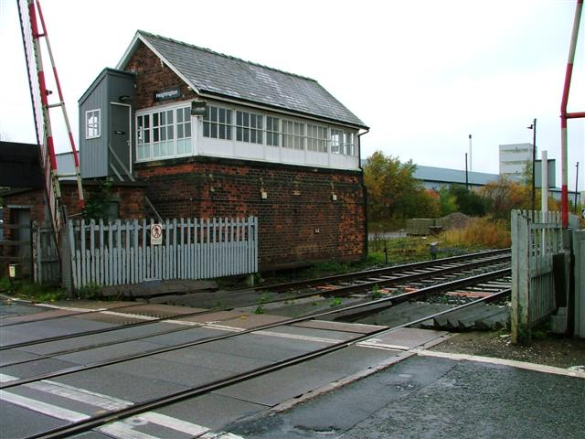Signal Box, Heighington Station