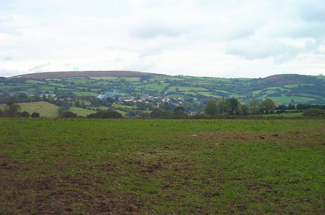 View of Moretonhampstead - Devon