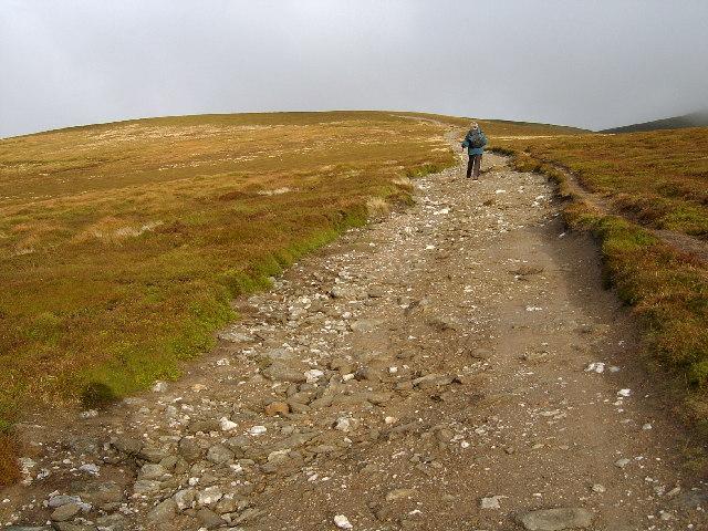 Path to Glas Tulaichean