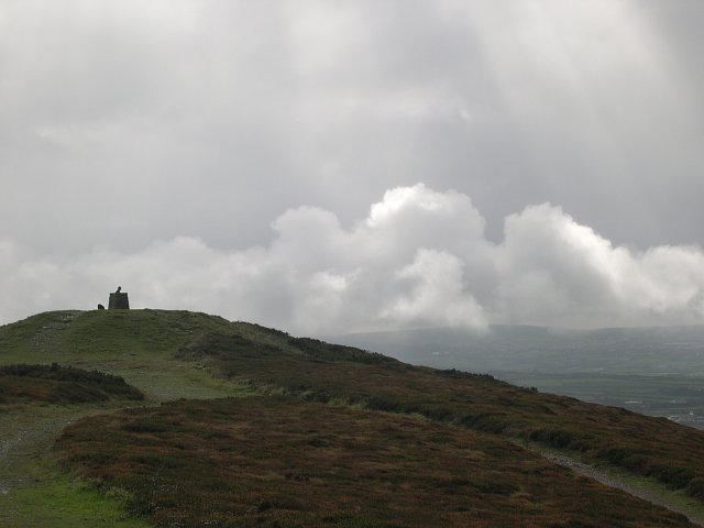 Clearing skies over St Agnes Beacon