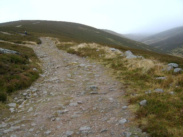 Glas Tulaichean path