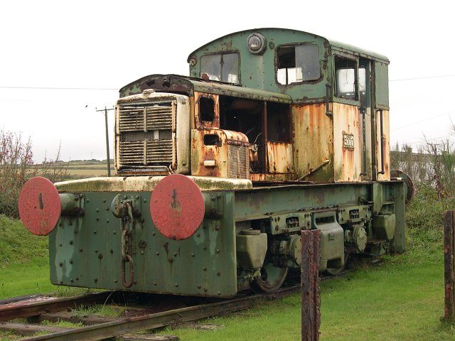 Old Diesel Locomotive