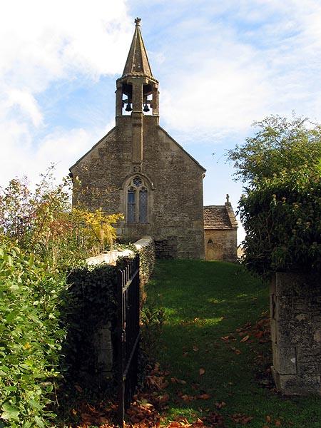 Village church in Corston