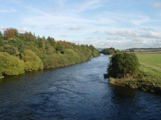 River Earn from Forteviot Bridge