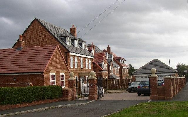 New houses on Windybank Lane, Liversedge