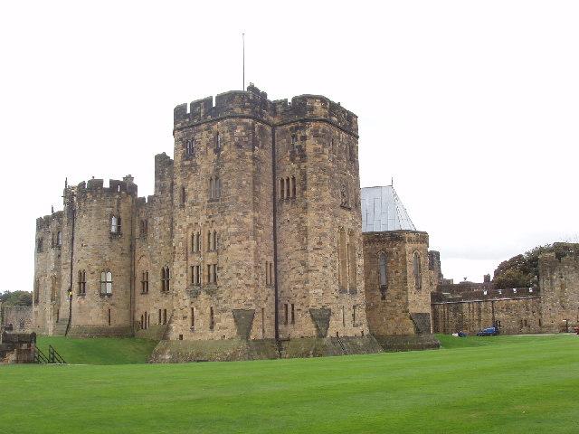 Keep of Alnwick Castle