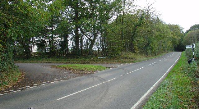 Broxmead Lane Junction, Slough Green, West Sussex