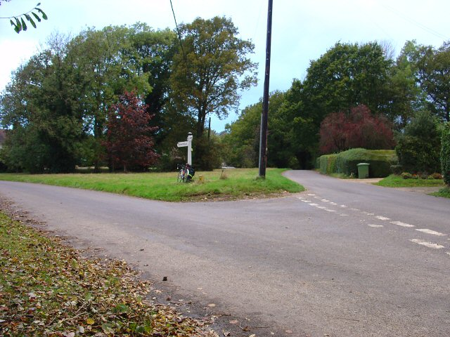 Junction of Rose Cottage Lane and Brantridge Lane, Slaugham, West Sussex