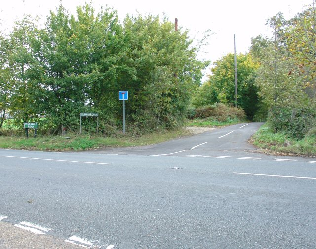 Junction of Cleavers Lane and Staplefield Road, Near Slough Green, West Sussex