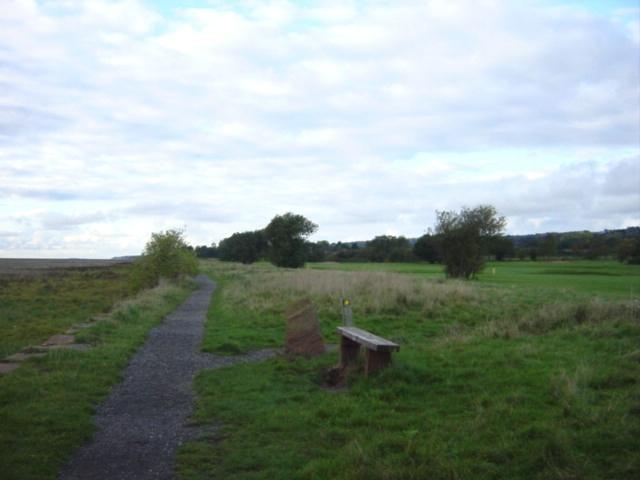 Coastal footpath, Gayton