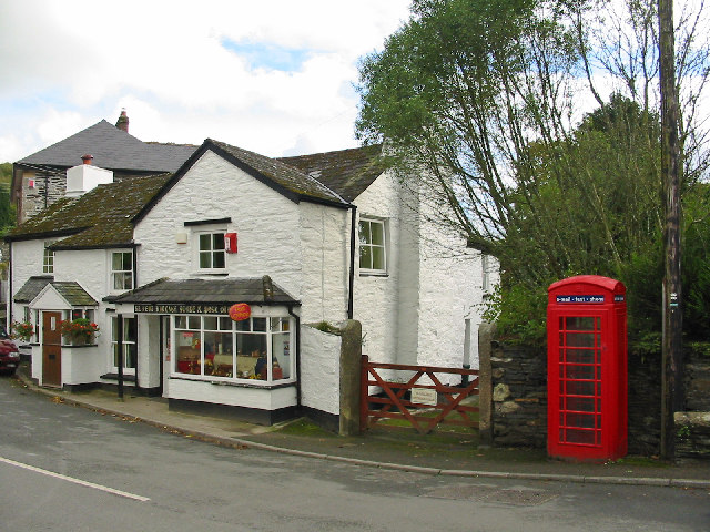 The Post Office, St. Neot, Cornwall.