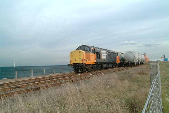 Industrial siding to Alcan terminal, North Blyth