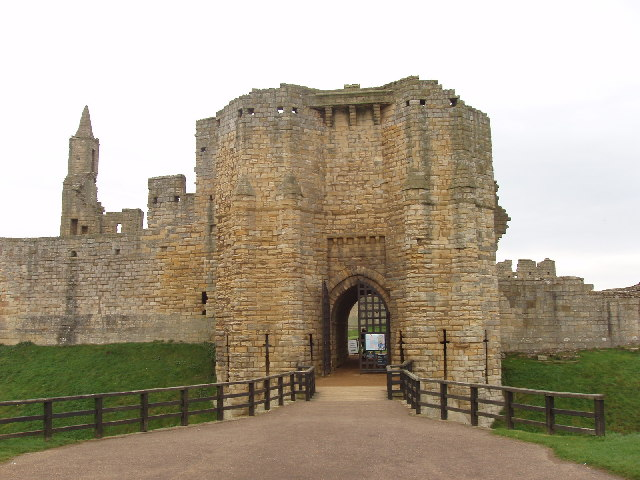 Gatehouse of Warkworth Castle