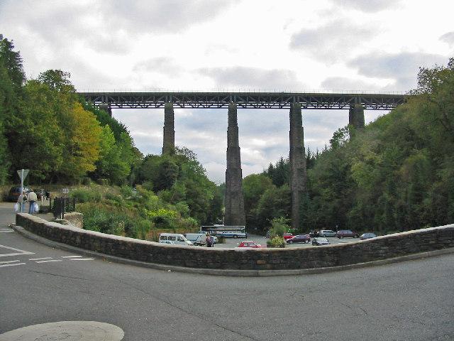 St. Pinnock Viaduct, Cornwall.