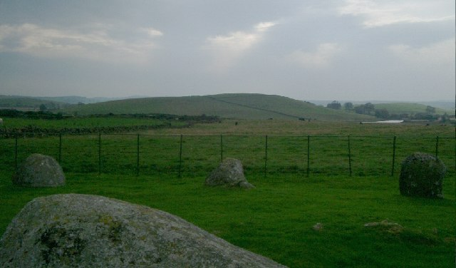 Wood Hill from Stone of Torhouse