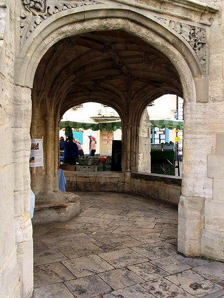 Market Place: Malmesbury