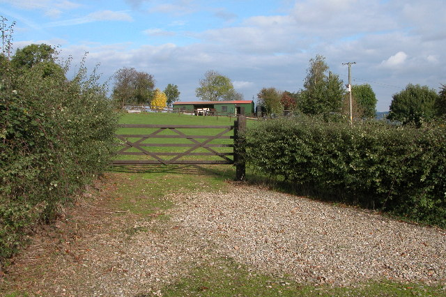Stable and Paddock at Hill Grove near Dymock