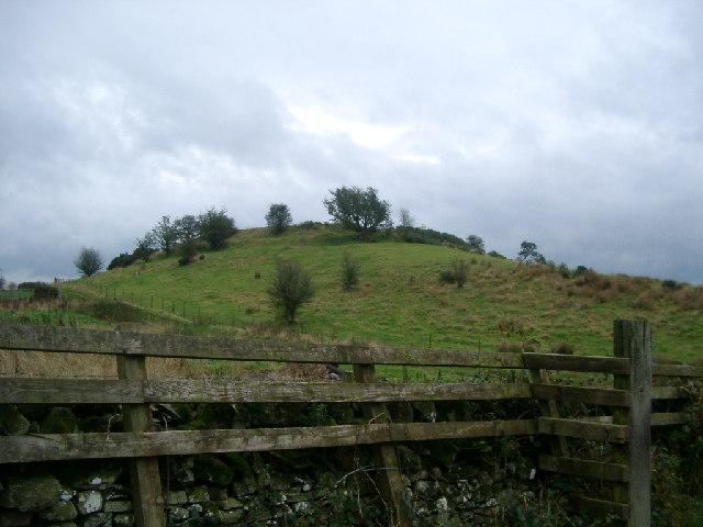 Hill Fort near Crossmichael