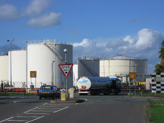 Kingsbury Oil Depot