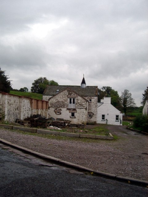 Part of the mill complex at Old Bridge of Urr