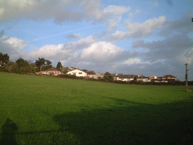 Hillcote housing Bleadon