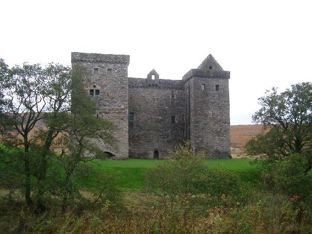 Hermitage Castle, sort-of near Hawick