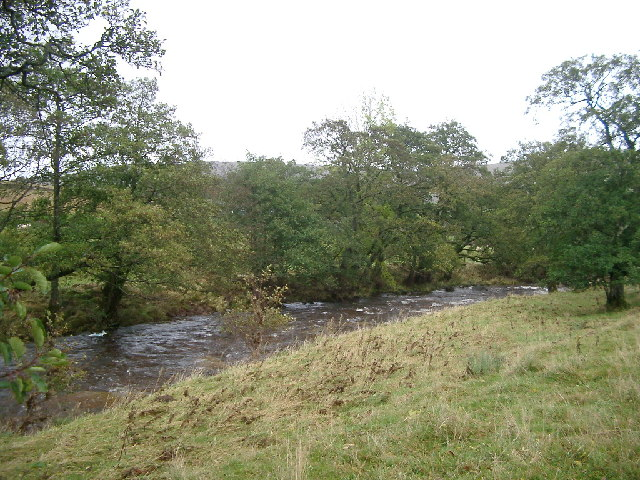 Hermitage Water, near confluence with Whitrop Burn