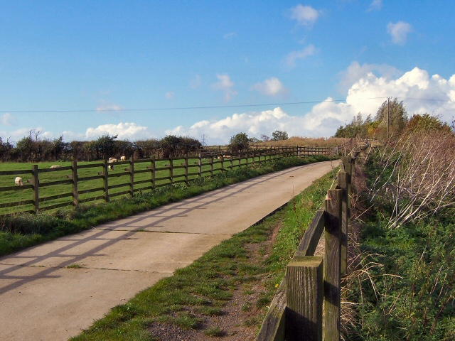 Bridleway near Bythorn