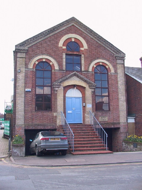 Church converted to a business