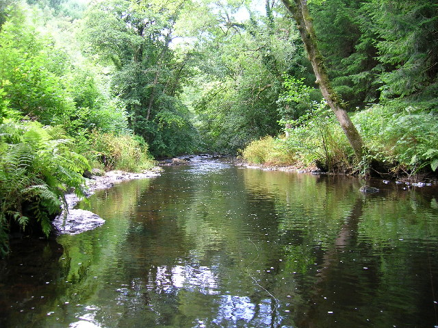 River Teign below Fingle Bridge, Devon