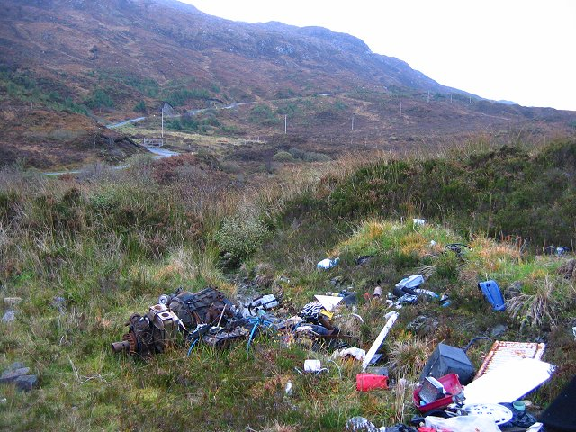 Dump, Glen Arroch.
