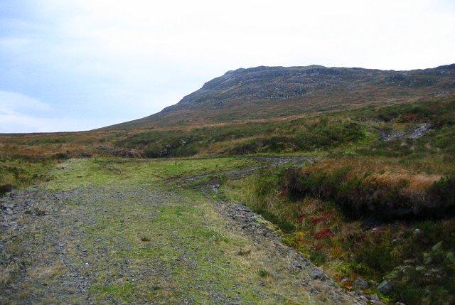 Road end, Coire nan Cuilean.