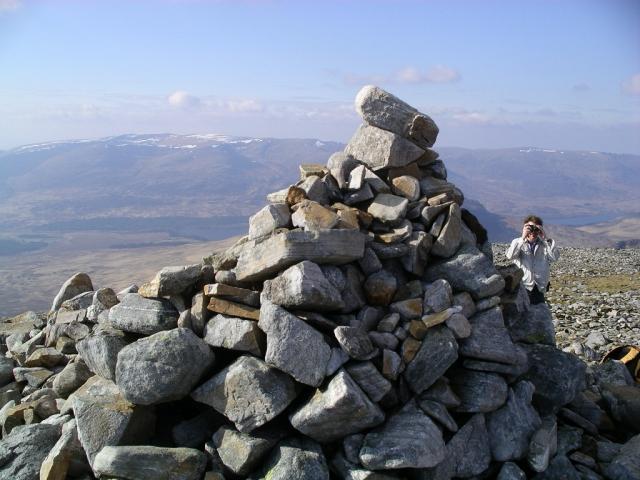 Beinn a'Chlachair : Munro No 56