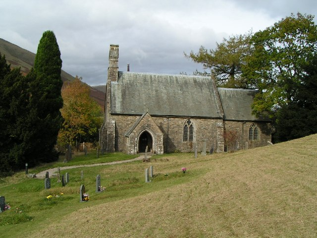 St Marks Church at Cautley, Cumbria