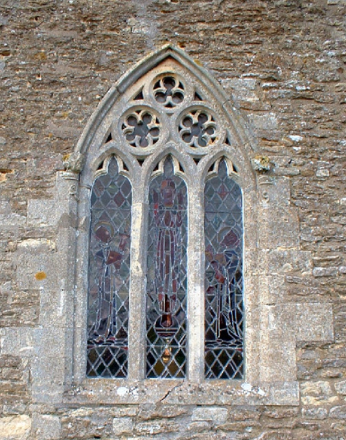 Owmby Church - Window