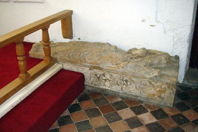 Middle Rasen Church - Early C14 Effigy