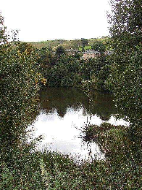 Mill Pond, Clough Lee, Marsden