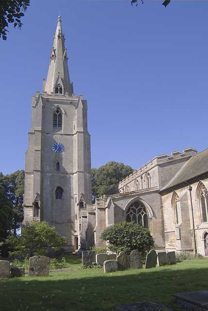 Donington church