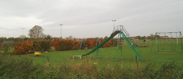 Gaultree playground, Hungate Road.