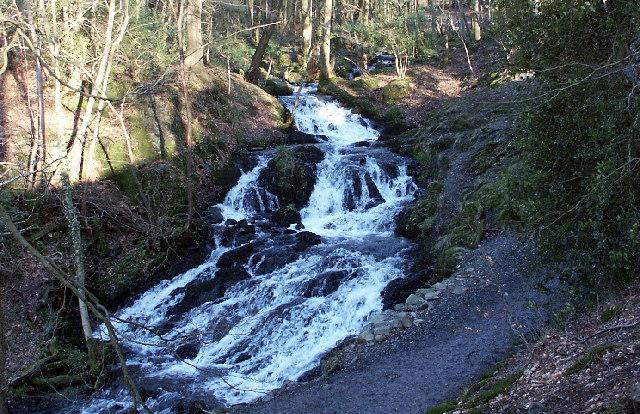 Waterfall near Millerground - Windermere