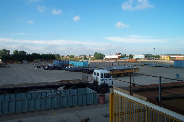 Industrial Land bordering Immingham Docks