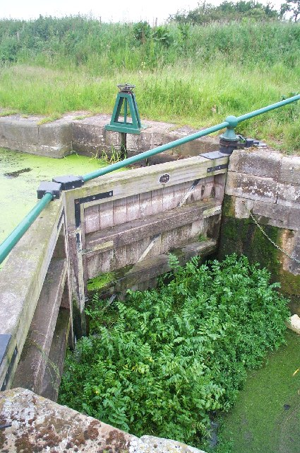 Harlam Hill Lock, River Ancholme