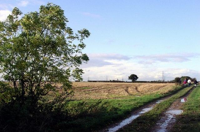 Farmland near Ulceby