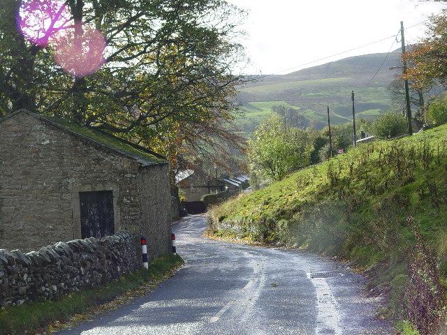 Narrow main road